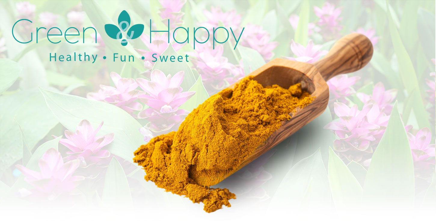 Green and Happy Curcumin and Ginger