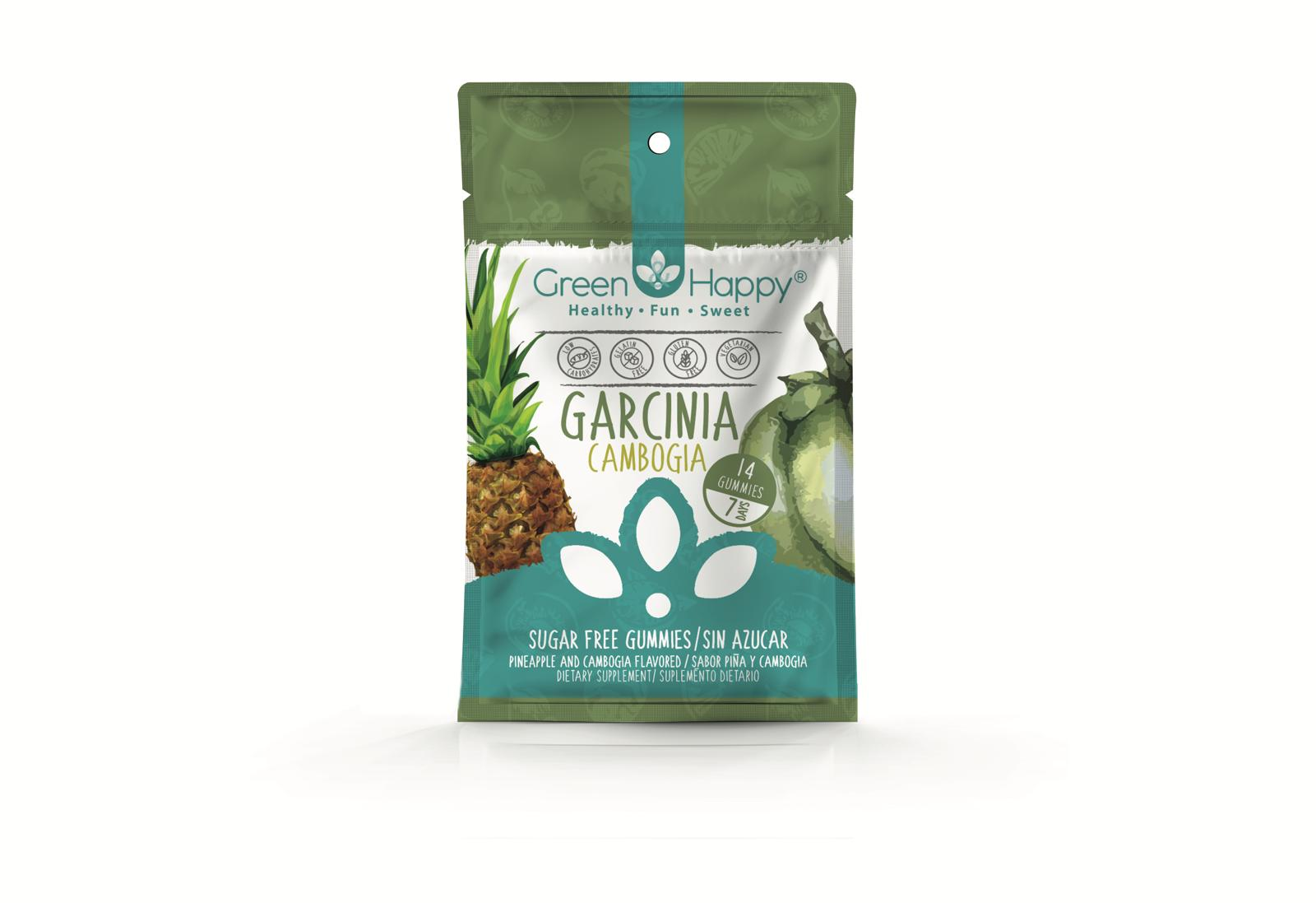 Garcinia Cambogia Gummies Green Happy